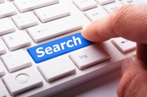 Keyword search in online marketing